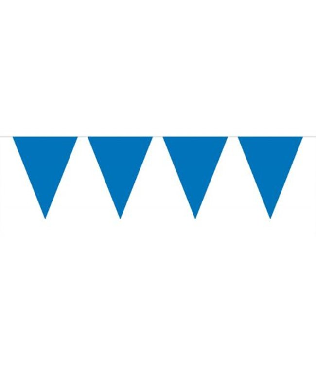 Folat XL Vlaggenlijn Donkerblauw - 10 meter - plastic