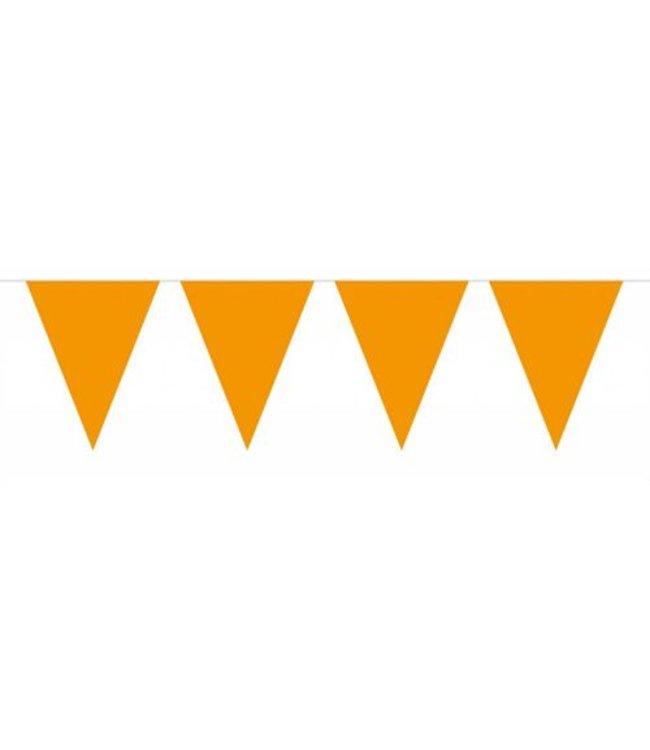 Folat XL Vlaggenlijn Oranje - 10 meter - plastic