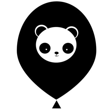 The Cherry on Top Panda Ballonnen - 6 stuks - 33 cm