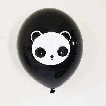 TCOT Panda Ballonnen - 6 stuks - 33 cm
