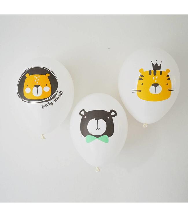 TCOT Party Animals Ballonnen - 6 stuks