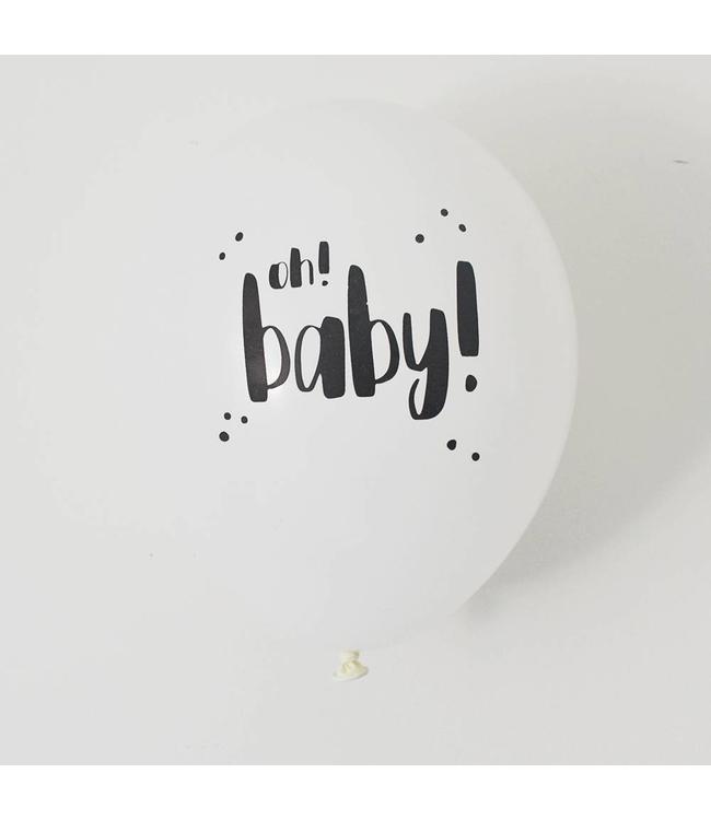The Cherry on Top Oh Baby Ballonnen - 6 stuks
