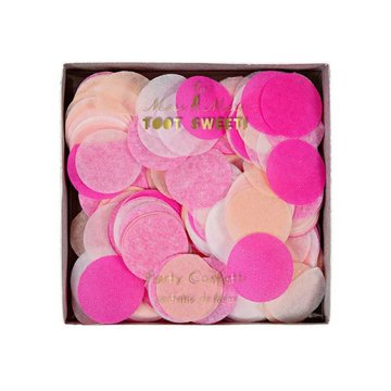 Meri Meri Pink Party Confetti - 3 kleuren - tissue Confetti