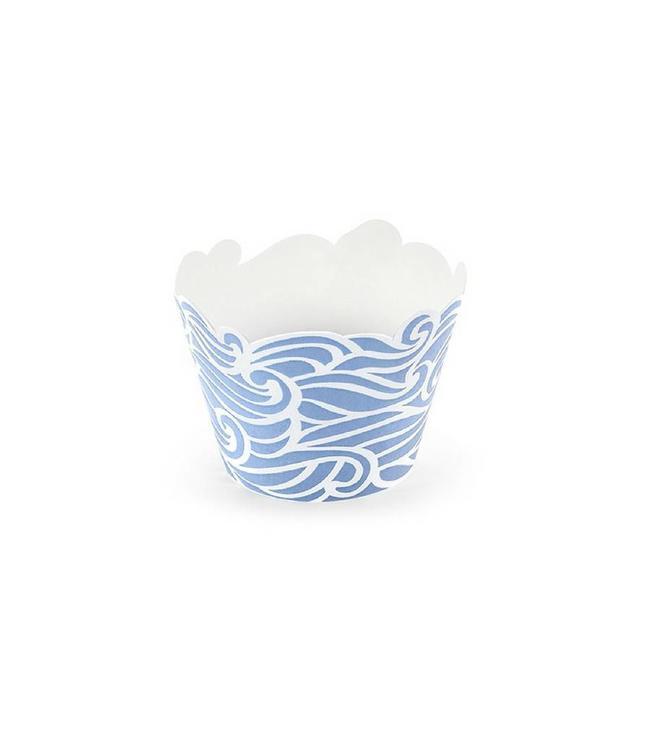 Partydeco Ahoy! Cupcake Wrappers - 6 stuks
