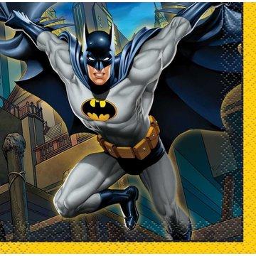 Unique Batman servetjes - 16 stuks