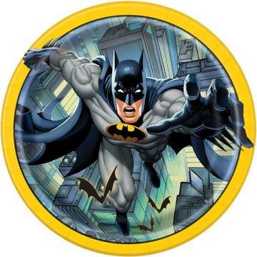 Unique Batman borden - 8 stuks - 23 cm