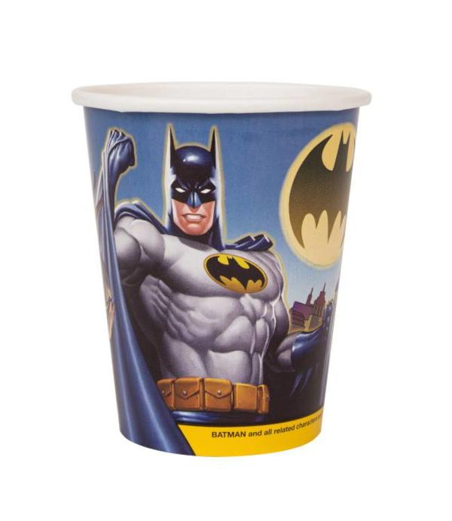 Unique Batman bekers - 8 stuks