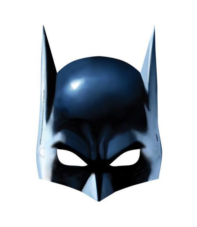 Unique Batman maskers - 8 stuks