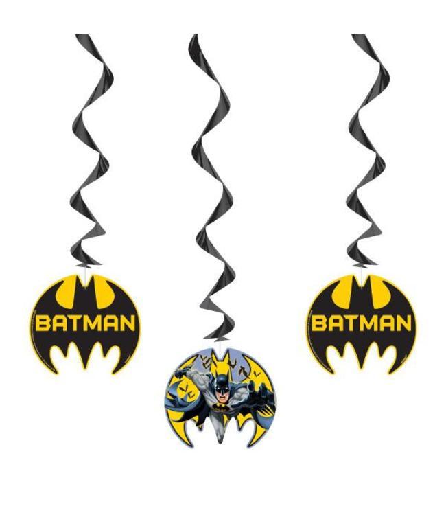 Unique Batman Hangdecoraties - 3 stuks