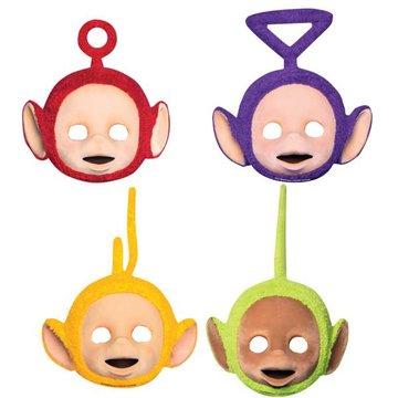 Amscan Teletubbies Maskers - 4 stuks