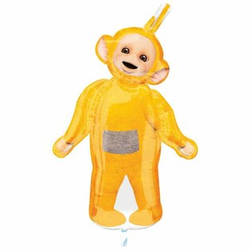 Amscan Teletubbies Laa-Laa Folieballon (Supershape) - 60 x 104 cm