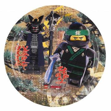 Amscan LEGO Ninjago borden - 8 stuks - 23 cm
