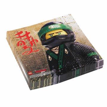 Amscan LEGO Ninjago servetten - 20 stuks