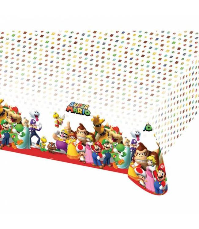 Amscan Super Mario Tafelkleed - 1,2 x 1,8 m