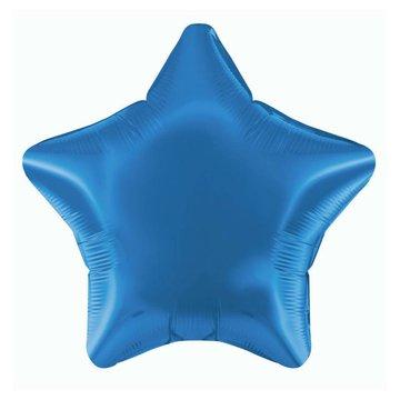 Betallic Folieballon Ster Donkerblauw - 51 cm