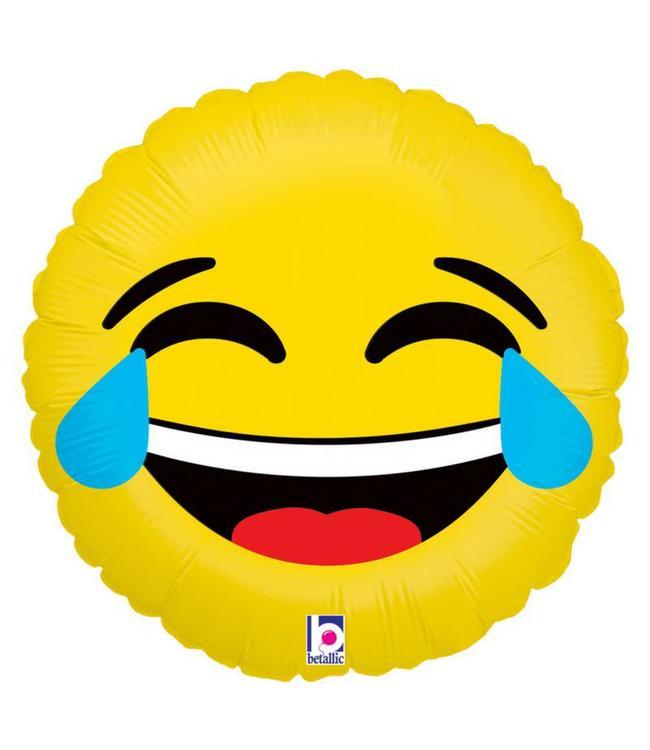 Betallic Emoji LOL Folieballon - 46 cm