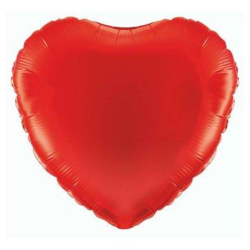 Betallic Folieballon Hart Rood - 46 cm