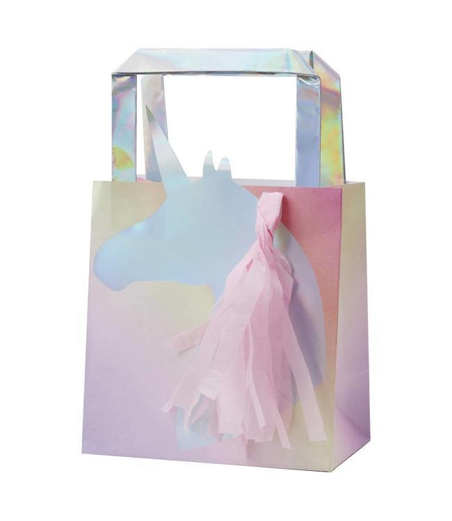 Ginger Ray Make a Wish Unicorn Goodiebags - 5 stuks