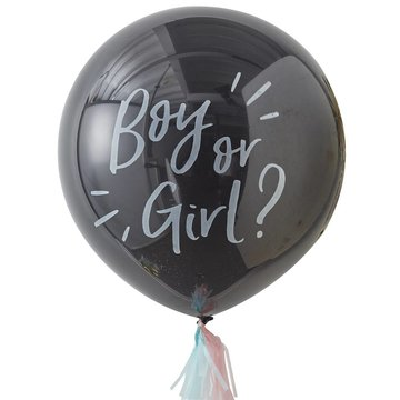Ginger Ray Oh Baby! Gender Reveal Ballon (Jumbo) - 91 cm - set