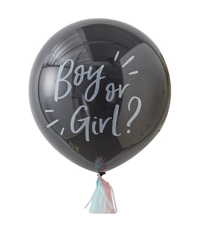 Ginger Ray Oh Baby! Gender Reveal Ballon (Jumbo) - 91 cm