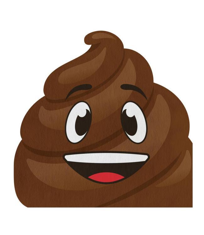 Creative Party Poop Emoji Servetten - 16 stuks