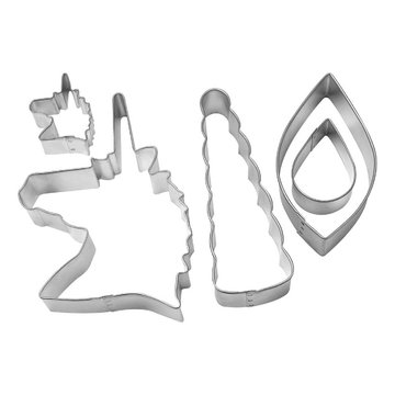 Creative Party Unicorn Cake Topper Cookie Cutters Kit - Set van 5