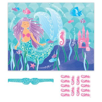Unique Mermaid Spel 'Ezeltje Prik' - Set van 16 items
