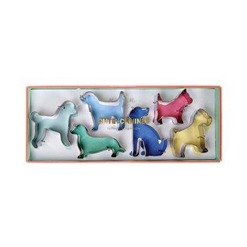 Meri Meri Cookie Cutters  Honden - Set van 6