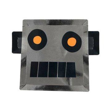 Meri Meri Robot Borden - 8 stuks