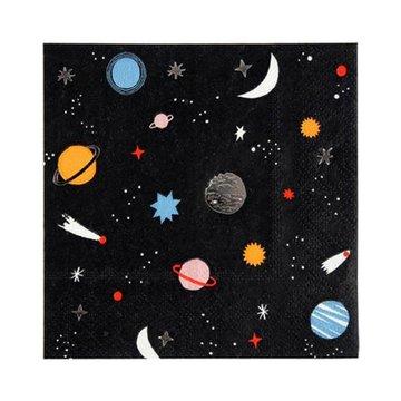 Meri Meri Space Servetten - 16 stuks