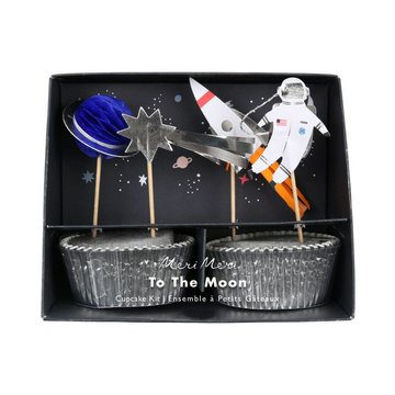 Meri Meri Space Cupcakes Set - 24 stuks