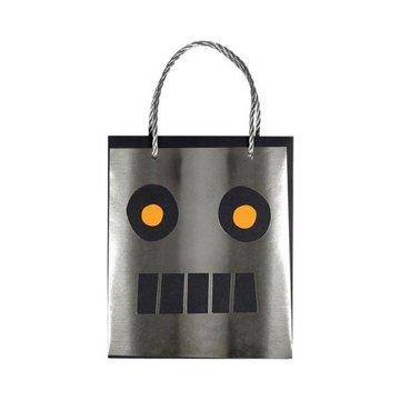 Meri Meri Robot Uitdeeltasjes - 8 stuks