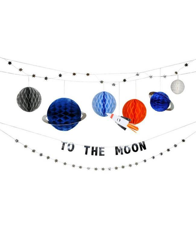 Meri Meri Space Slinger Set  - Ruimtevaart feestartikelen