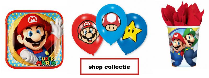 Super Mario feestartikelen bij Hieppp