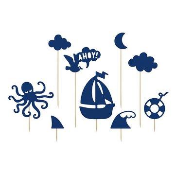 Partydeco Ahoy! Cake Topper - per stuk