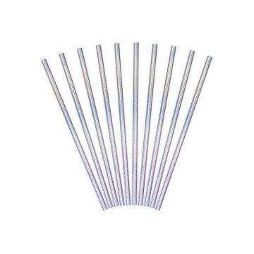Partydeco Rietjes Iriserend - 10 stuks - 19,5 cm