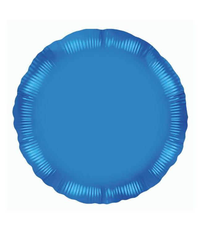 Oaktree Folieballon Rond Donkerblauw - 46 cm
