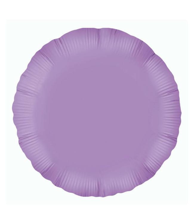 Oaktree Folieballon Rond Lila - 46 cm