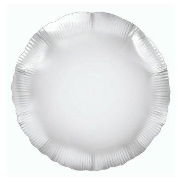 Oaktree Folieballon Rond Zilver - 46 cm