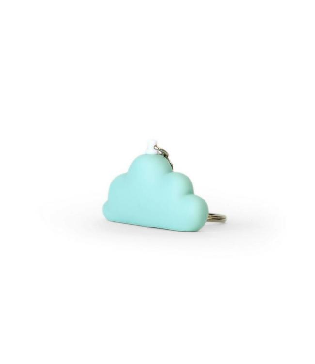bb collections Wolkje Sleutelhanger Aqua - Dreams - per stuk