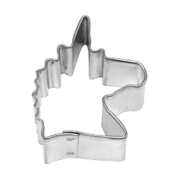 Creative Party Mini Cookie Cutter (Uitsteker) Unicorn Hoofd