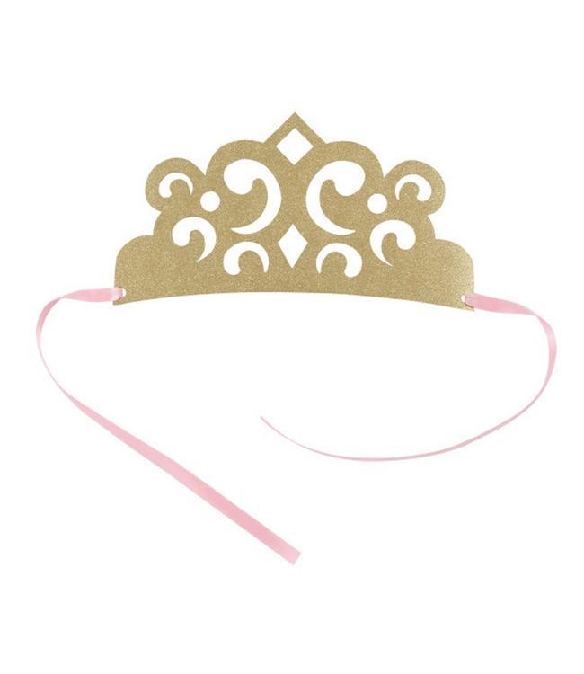 Unique Magical Princess Kroontjes - 4 stuks - prinses feestartikelen