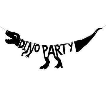 Partydeco Dinosaurus Slinger 'Dino Party' - per stuk - Dino Feestartikelen