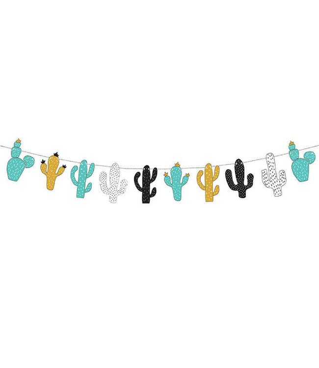 Partydeco Dinosaurus Cactus Slinger - per stuk - Dino Feestartikelen