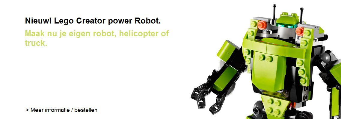 Creator Power Robot 31007
