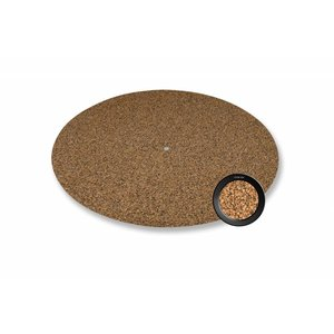 bFly-audio Cork 'n Rubber Turntable mat 3 mm