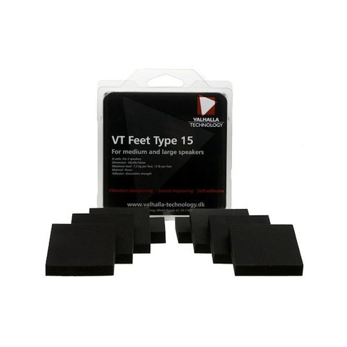 Valhalla Technology Speaker VT feet type 15 (8 Stück)