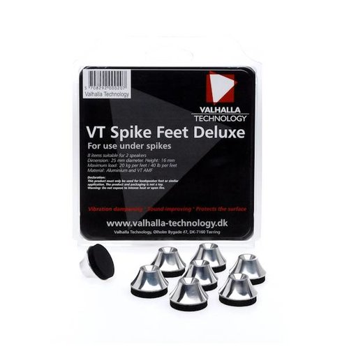 Valhalla Technology Loudspeaker VT Spike Feet Deluxe (8 Pieces)