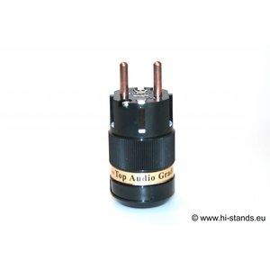 IeGo Schuko Plug Pure copper 8055 BK (Cu)