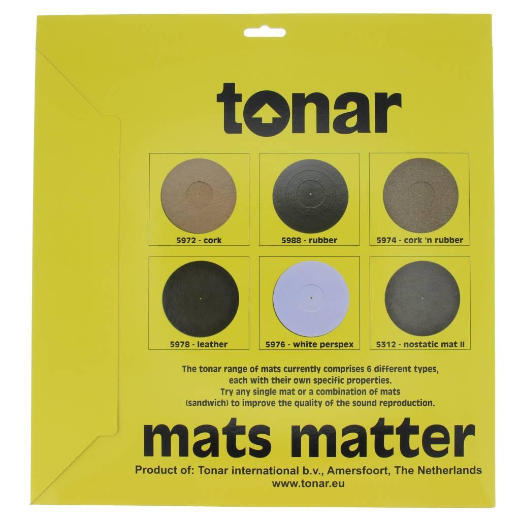 Tonar Cork N Rubber Turntable Mat 3mm Hi Stands Webshop